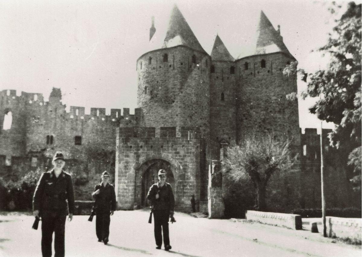 Carcassonne occupation allemande  Seconde guerre mondiale