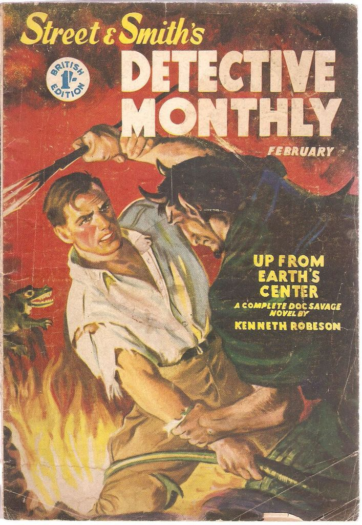 DOC SAVAGE - UP FROM EARTH's CENTER de Lester Dent