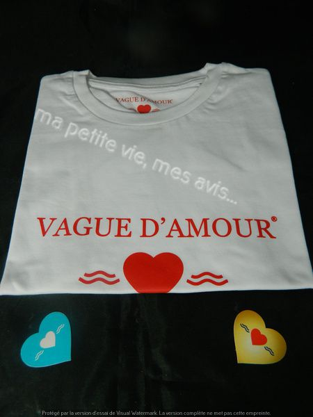 tee shirt vague d'amour