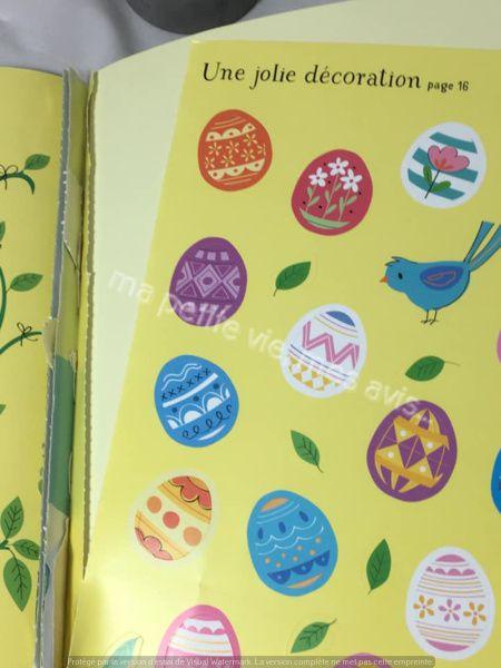 livre autocollants pour enfant