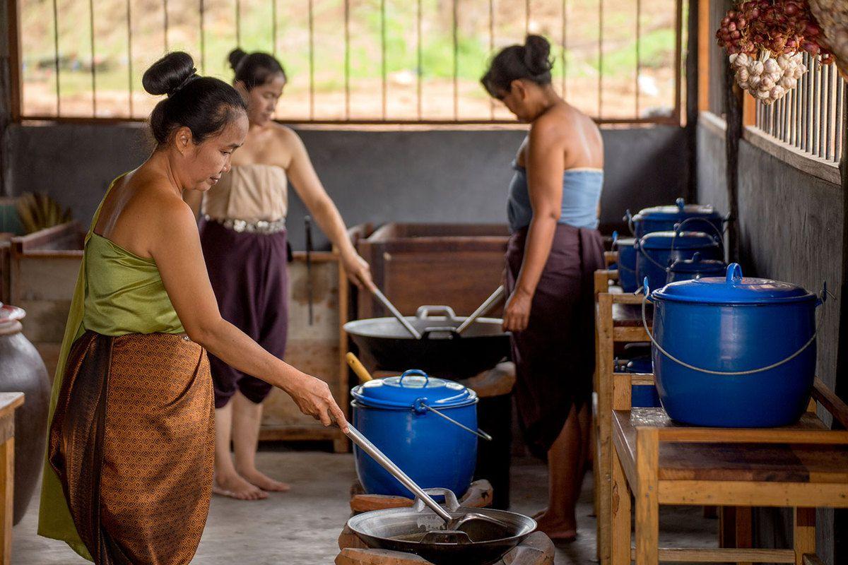 La cuisine à Mallika - Kanchanaburi