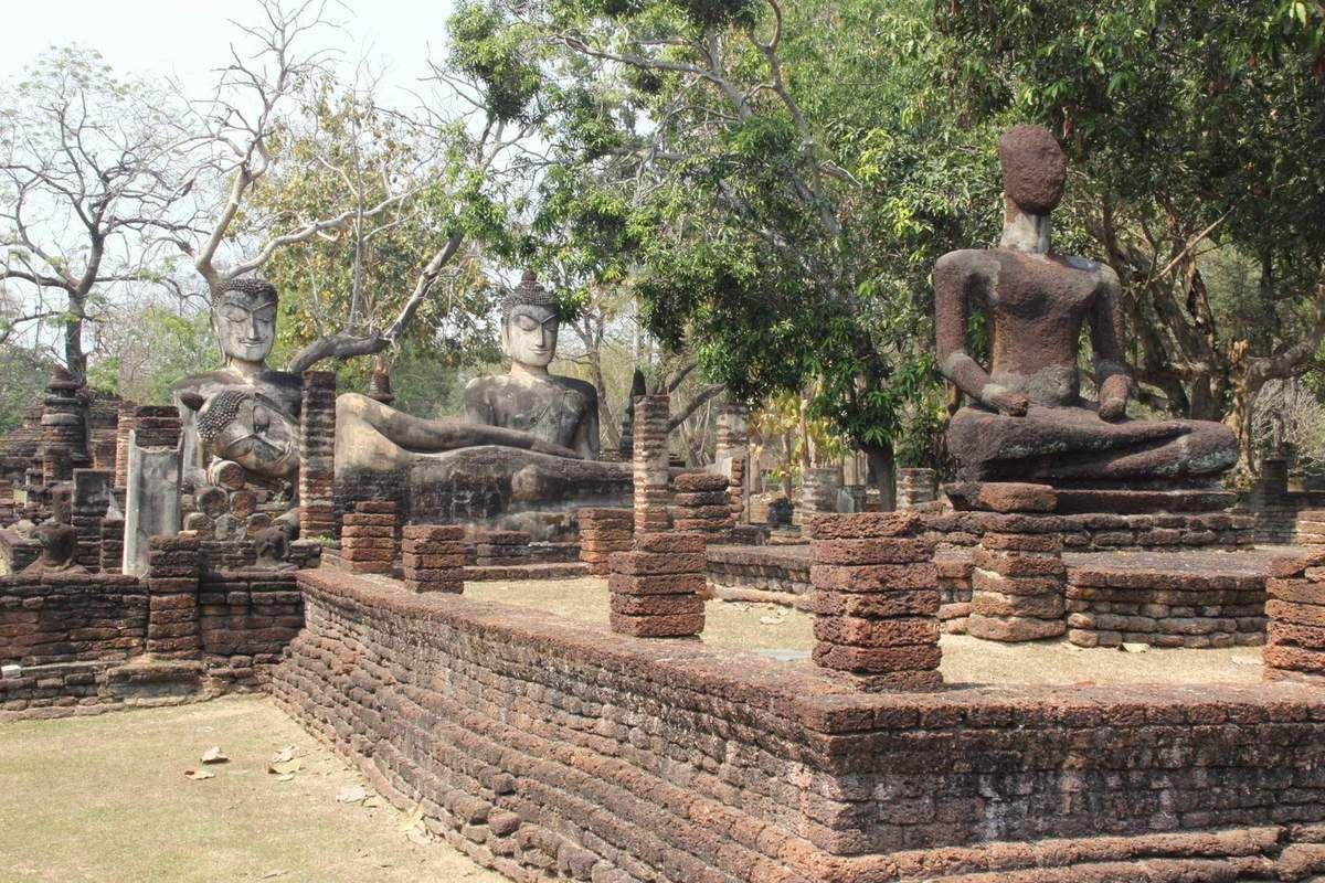 Parc national historique de Kamphaeng Phet avec Safarine Tours