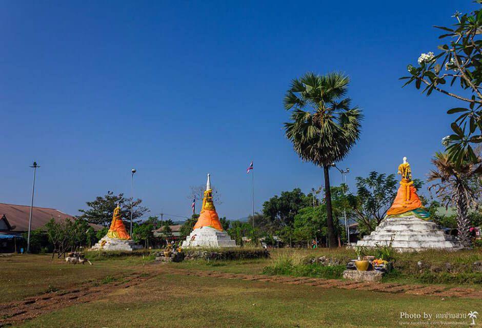Chedi Sam Ong , le Col des trois pagodes à la frontière birmane.