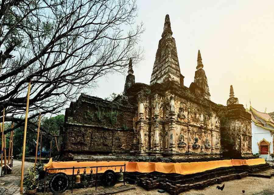 Wat Chet Yot à Chiang Mai