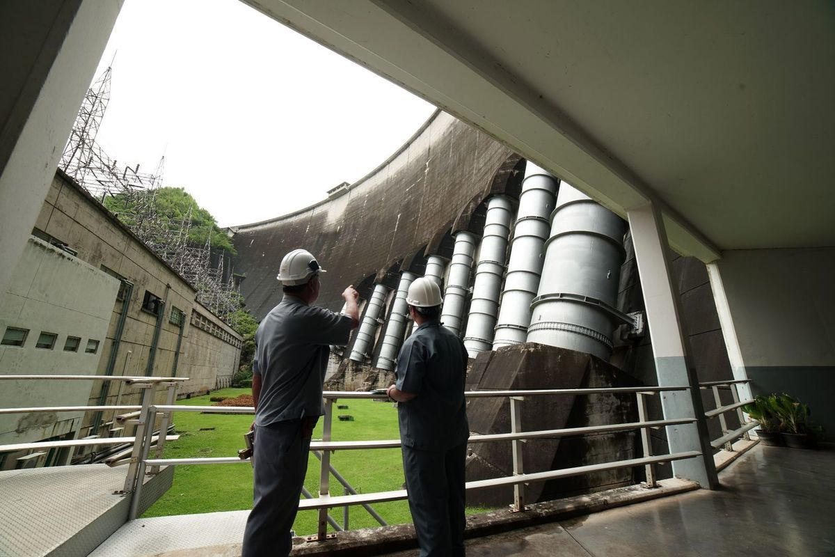 Barrage Bhumibol