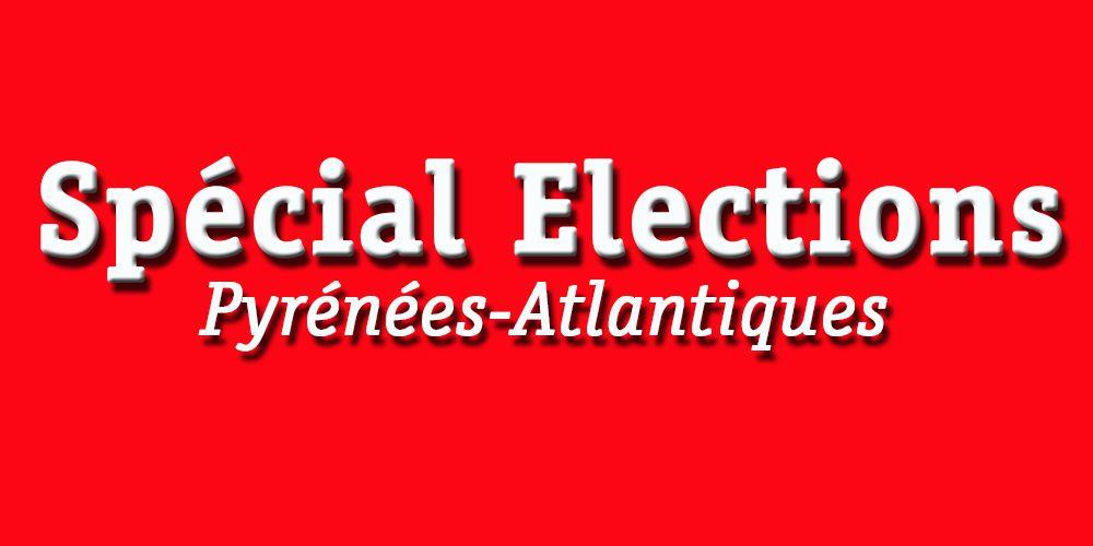 Les élections dans les Pyrénées-Atlantiques.