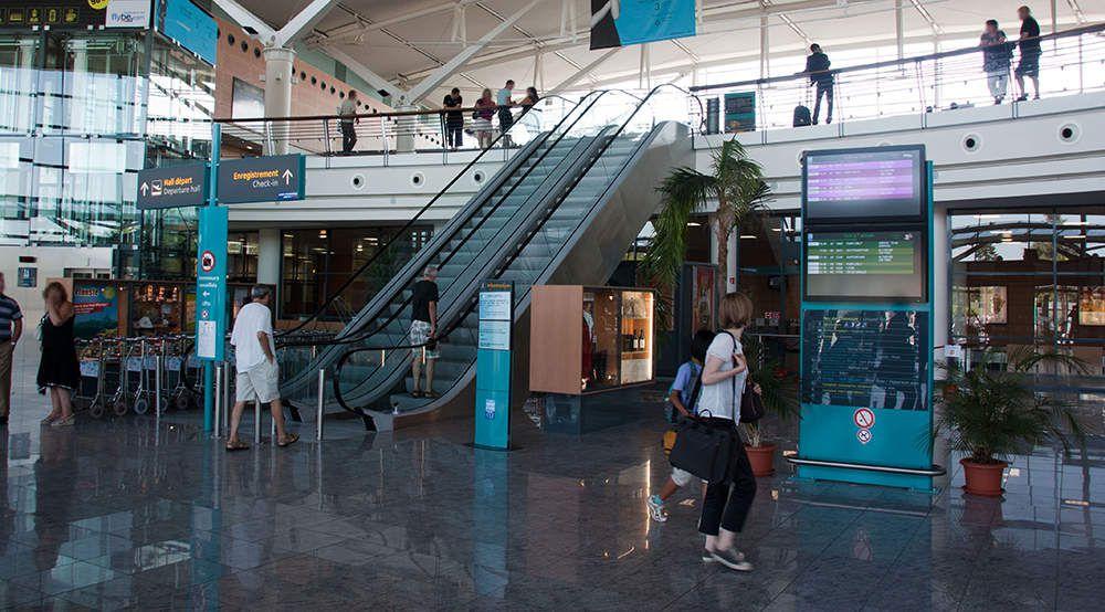 L'aéroport de Pau Pyrénées (DR).