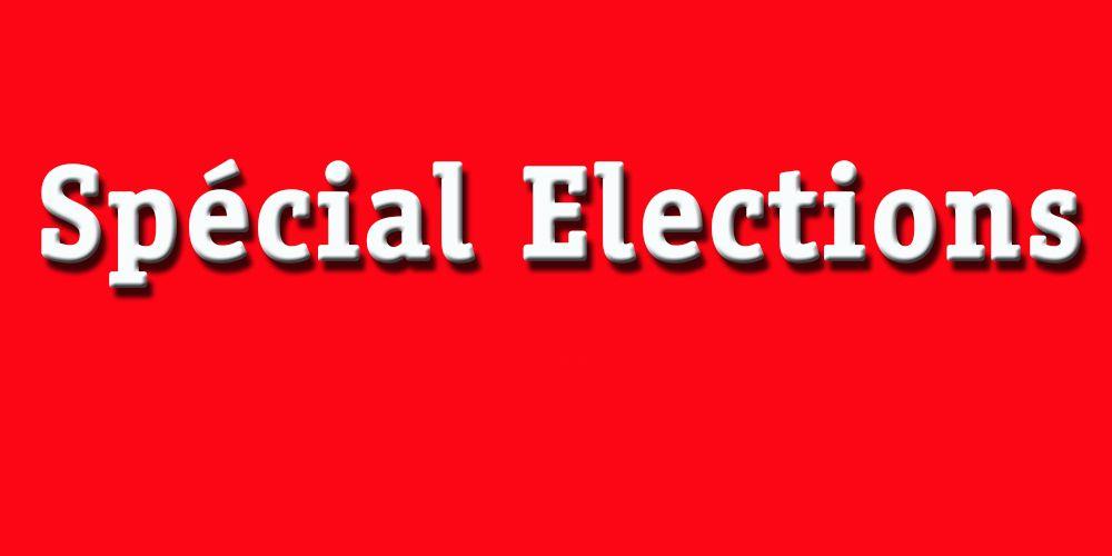 Les résultats du 1er tour des élections Législatives.