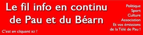Le fil d'info de Pau et du Béarn