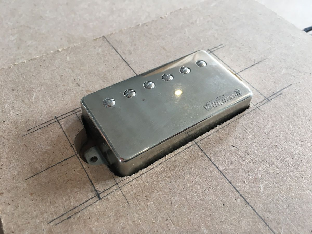 humbucker routing template