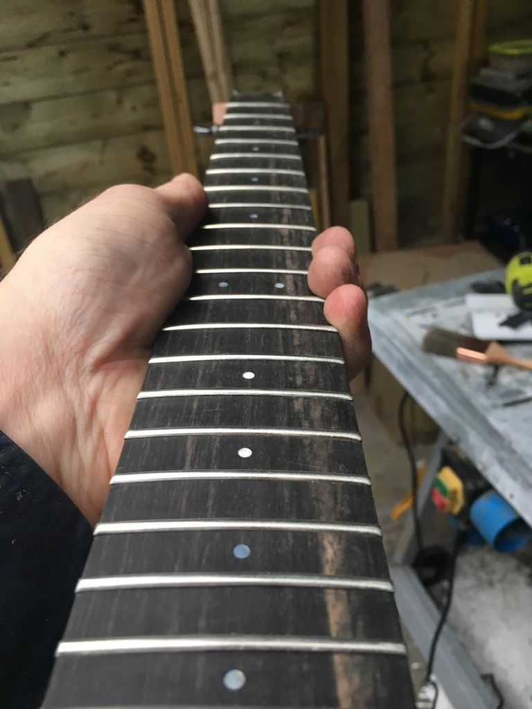 fret edges