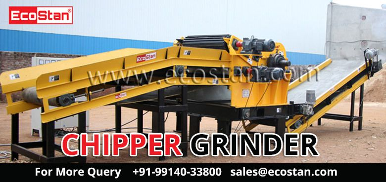 Best Commercial Wood Chipper For Sale In India - EcoStan