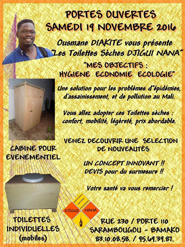 Flyer évènementiel World Toilet Day