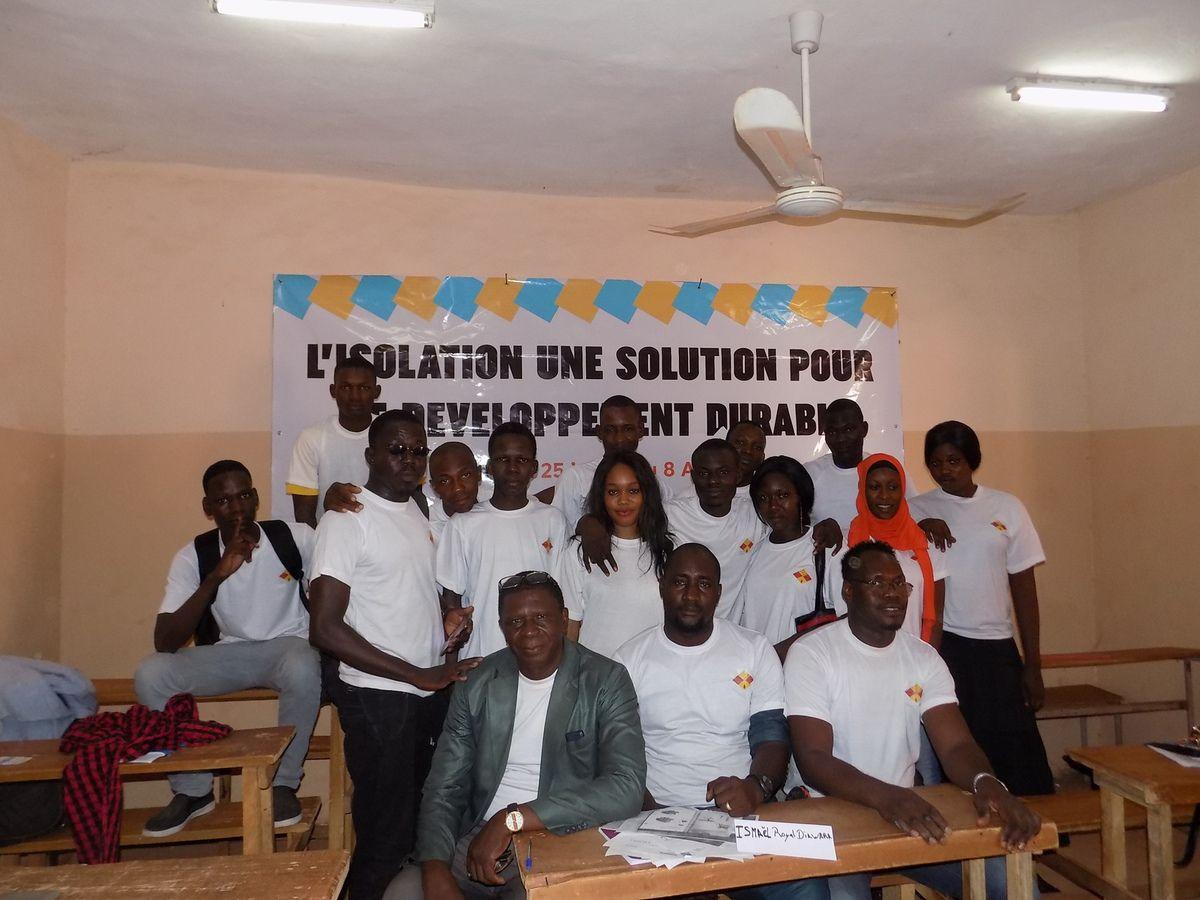 Session de Formation sur l'Isolation Juillet-Août 2018