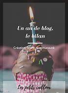 Bilan de la première année du blog