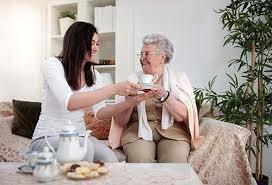 Accompagnateur de personnes âgées