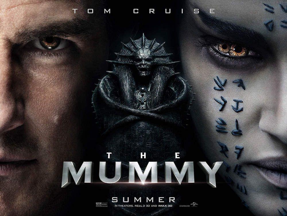 Tom Cruise dans LA MOMIE sortie le 14 juin 2017