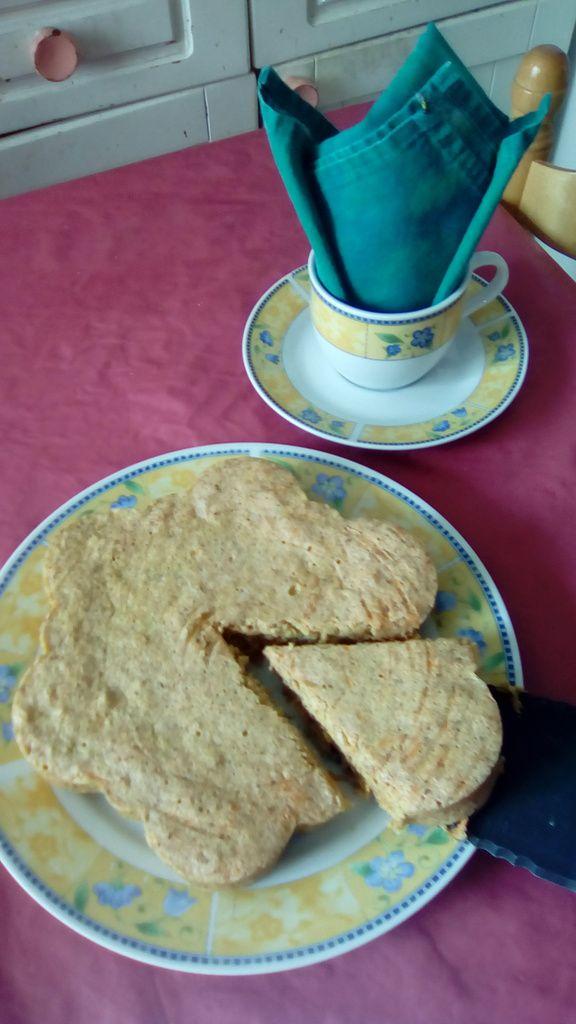 Gâteau aux carottes à l'argovienne  (recette compatible au micro-ondes)