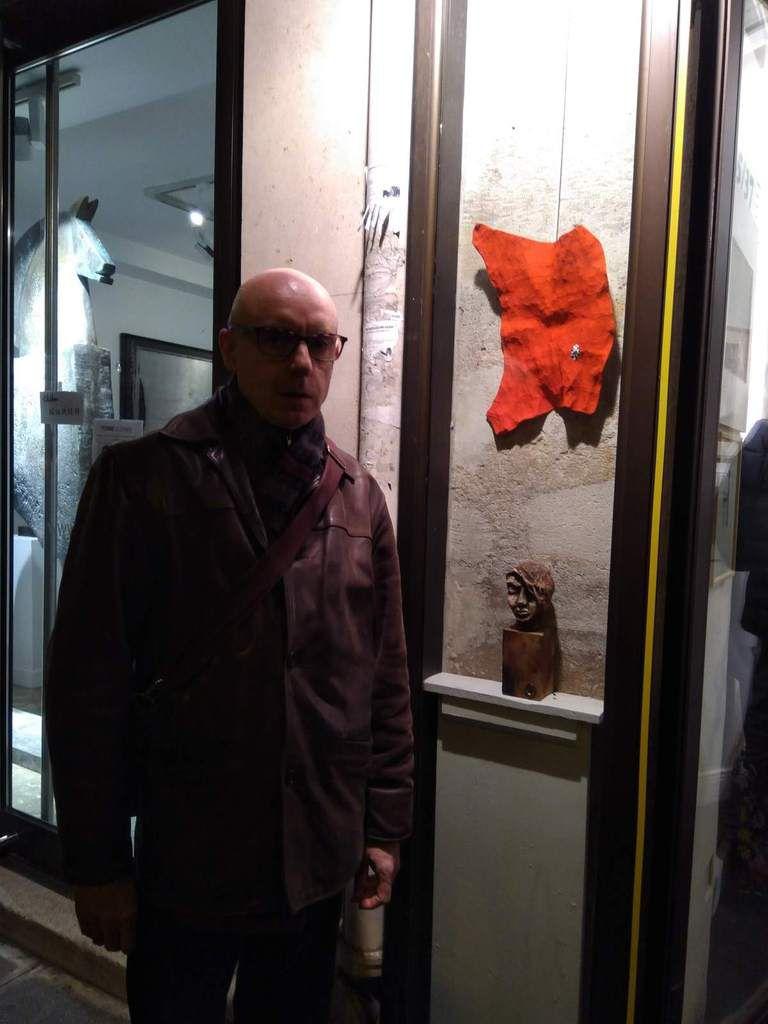 La Petite Galerie -Jacqueline Üstünel- 35-37 Rue de Seine, décembre 2018-janvier 2019.
