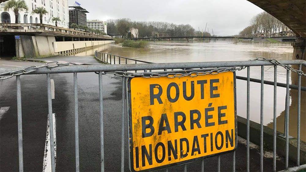Inondations à Dax