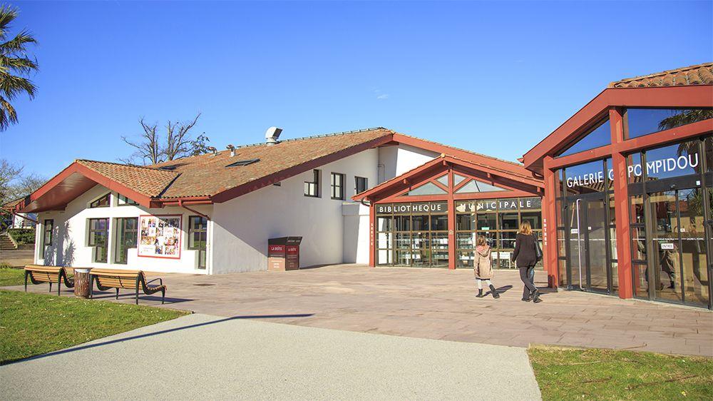 réouverture de la bibliothèque Quintaou à Anglet