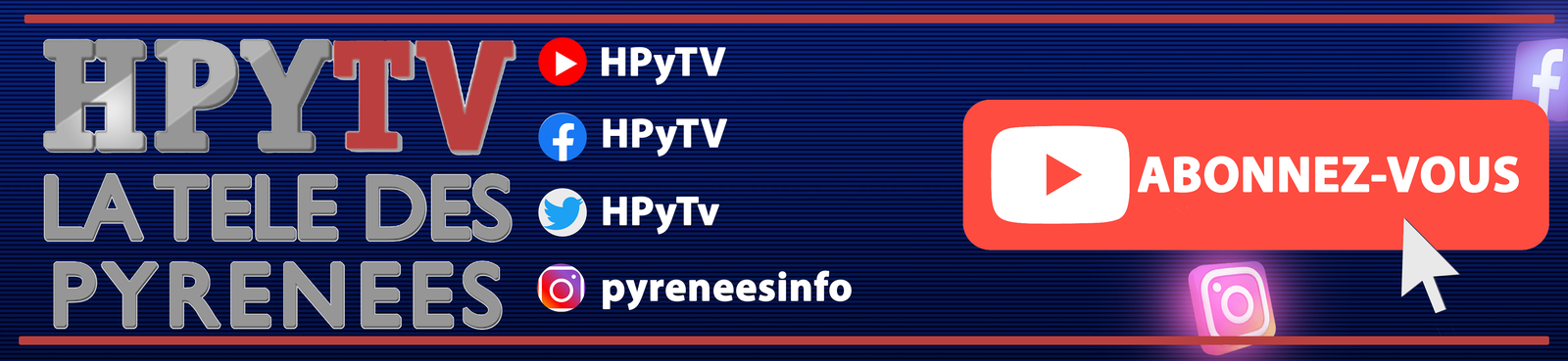 La Télé des Landes sur YouTube