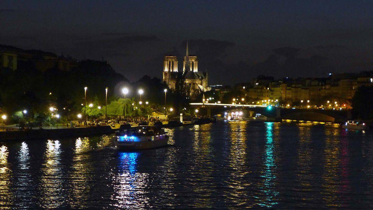 Notre-Dame vue du Pont d'Austerlitz,