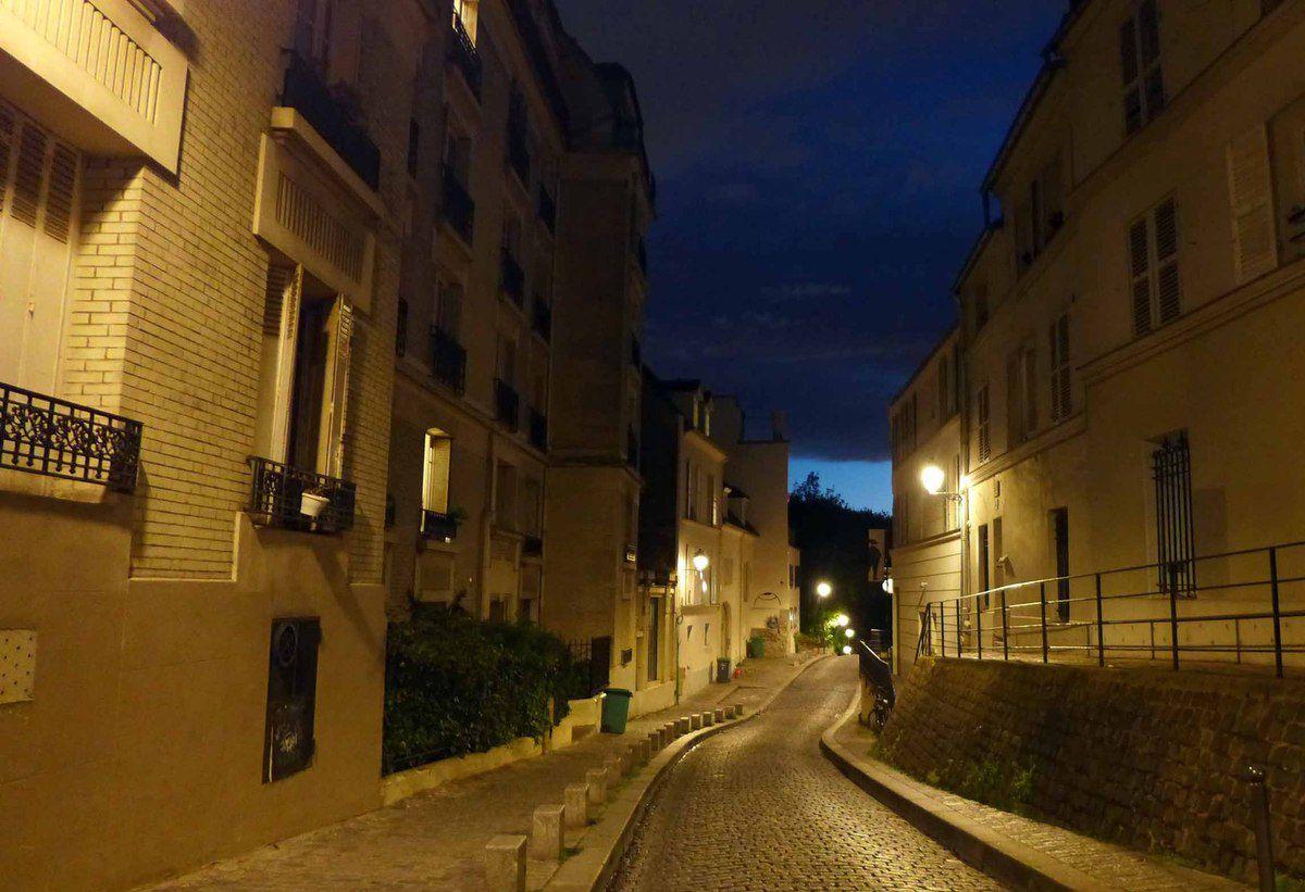 Un soir à Montmartre