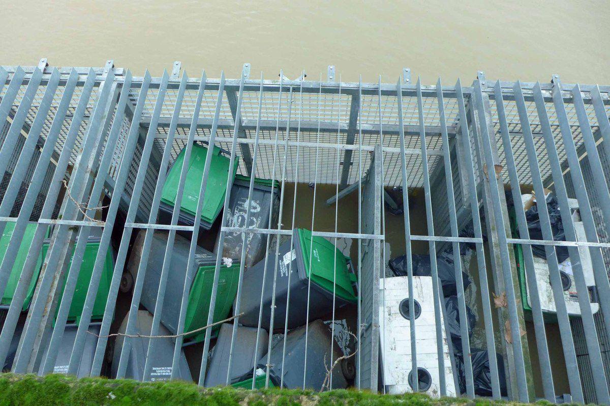 La Seine en crue - 5m25 à Austerlitz