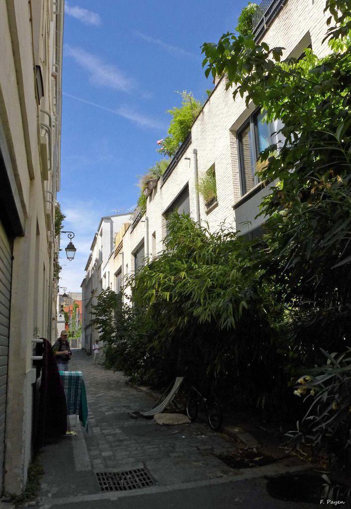 La rue des Vignoles et ses impasses