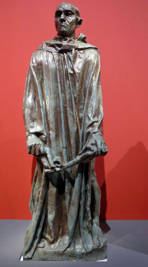 Jean-Paul Jeanneney - Jean d'Aire vêtu monumental (1903-1904) - Grès émaillé - PARIS, MUSEE RODIN