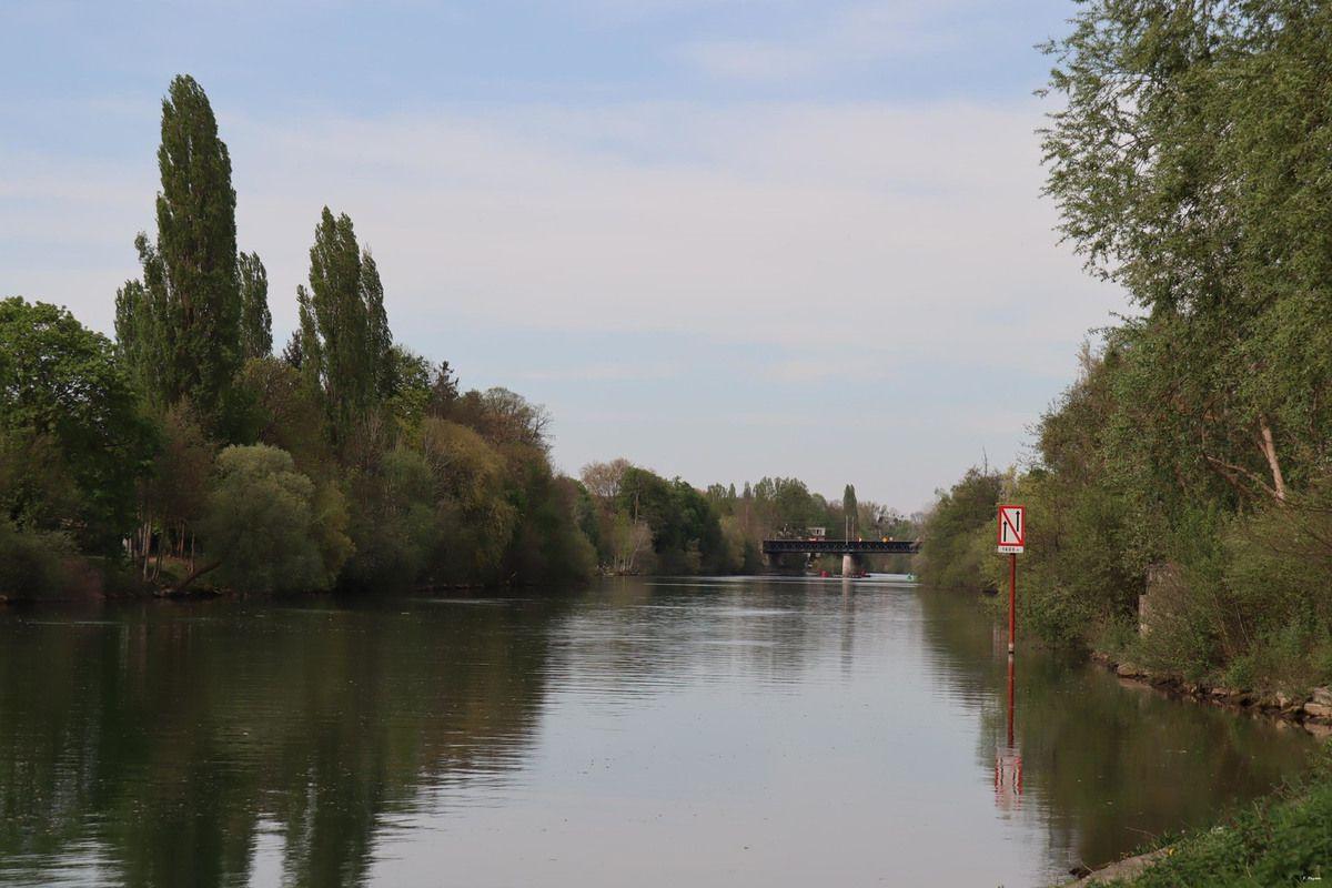 Bords de l'Oise : de Valmondois à Auvers-sur-Oise