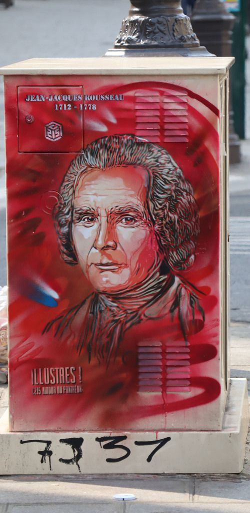 Jean-Jacques Rousseau, 7 place du Panthéon