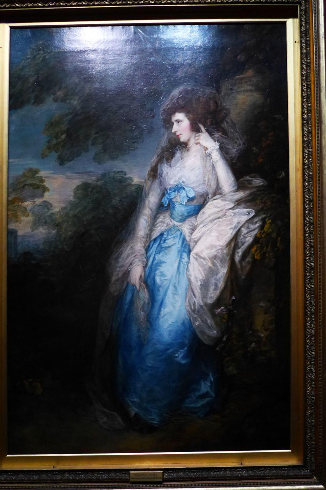 Thomas Gainsborough, Lady Bate-Dudley (1787).