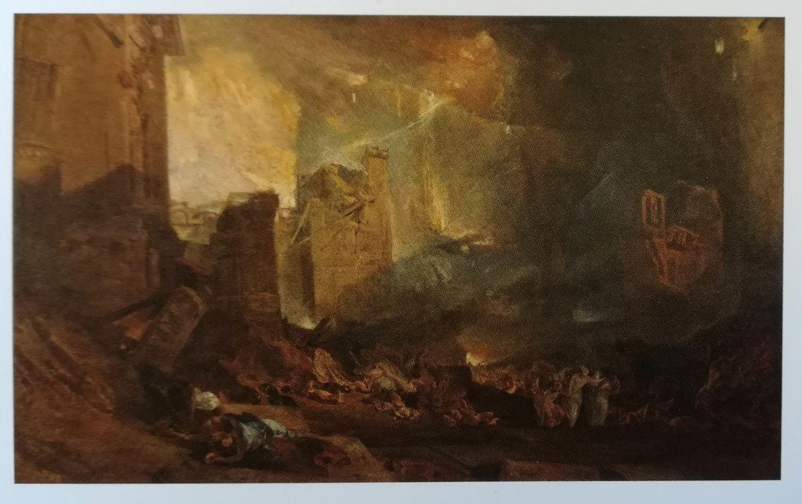 Joseph Mallord William Turner, La destruction de Sodome (1805).