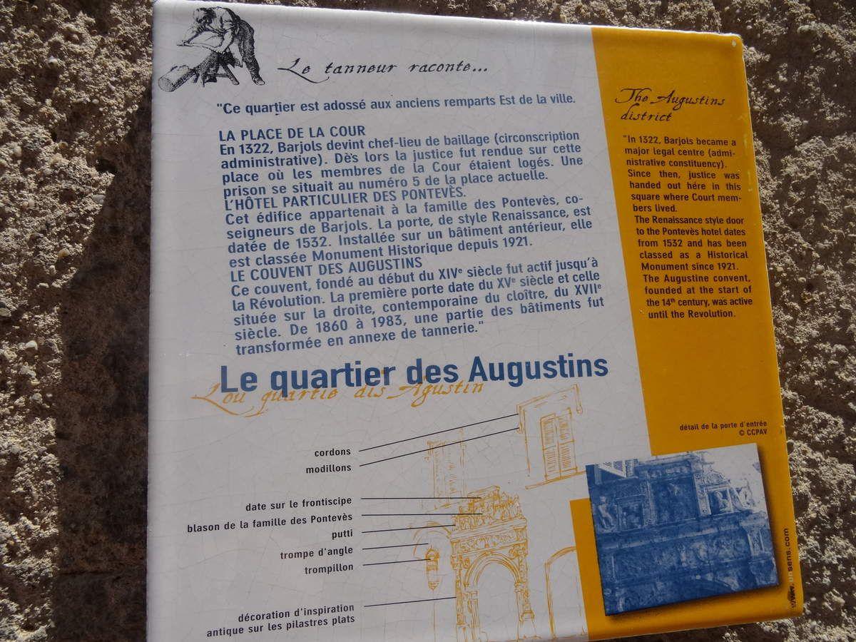 Barjols, l'eau de ses fontaines et du Vallon des Carmes, un bain de fraîcheur!