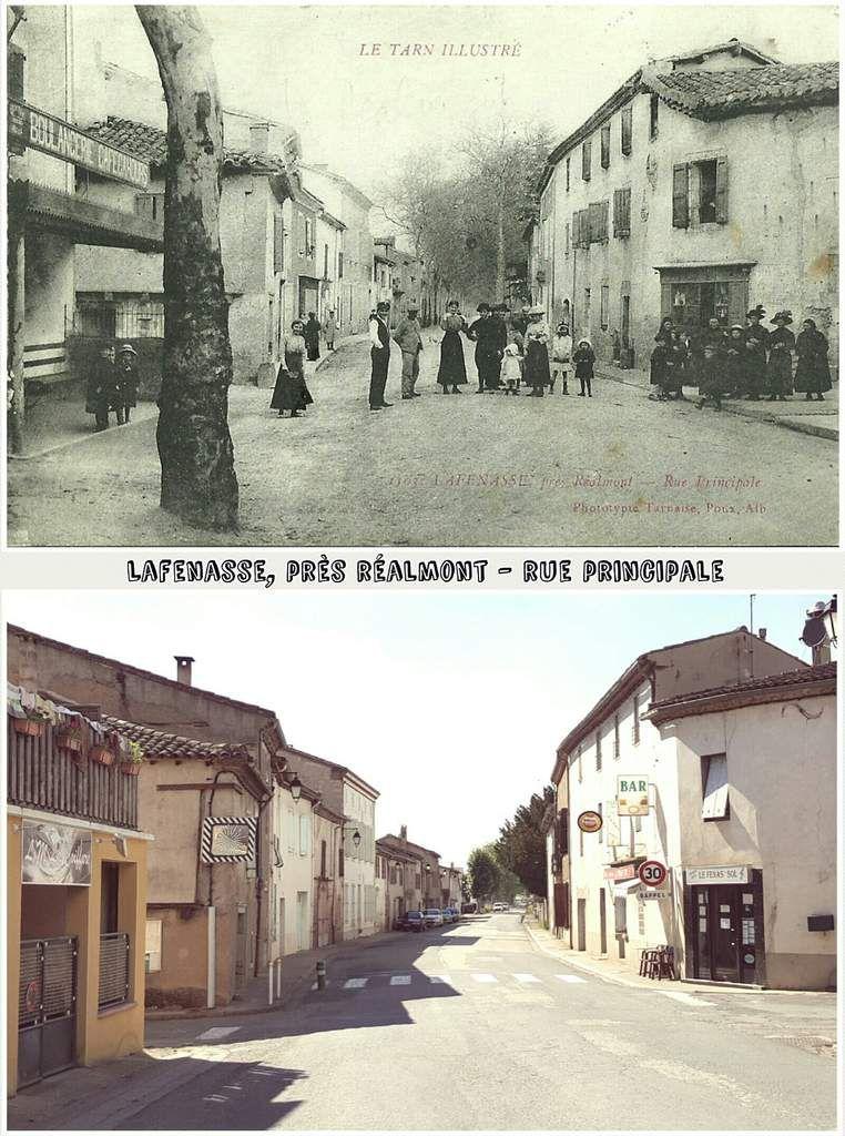 ● Une vue d'antan et d'aujourd'hui des petits villages du Tarn.