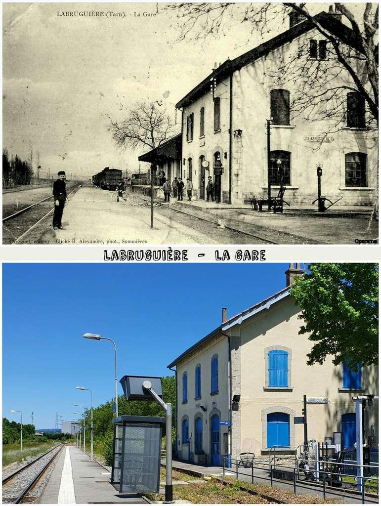 ● Les gares d'antan, que sont-elles devenues (Hte Garonne /Tarn).