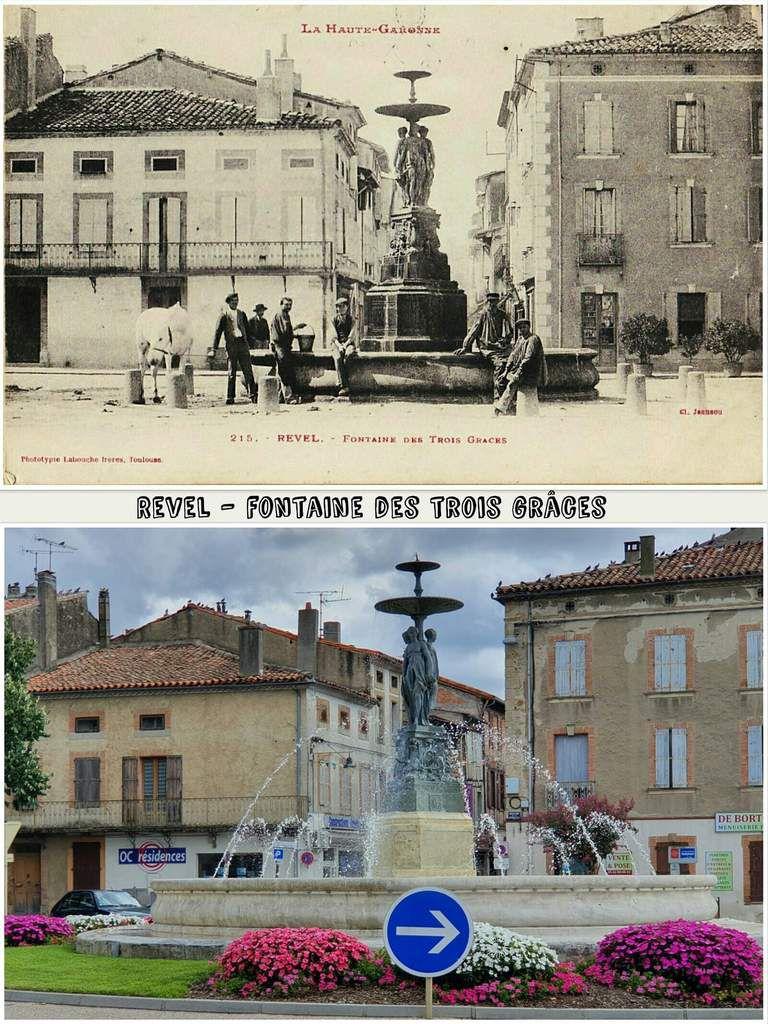 ● Vues d'aujourd'hui des fontaines et lavoirs d'antan.
