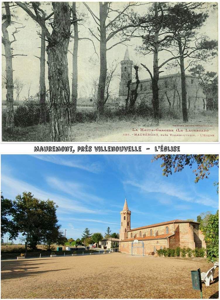 ● Antan et aujourd'hui en Lauragais, Haute Garonne.