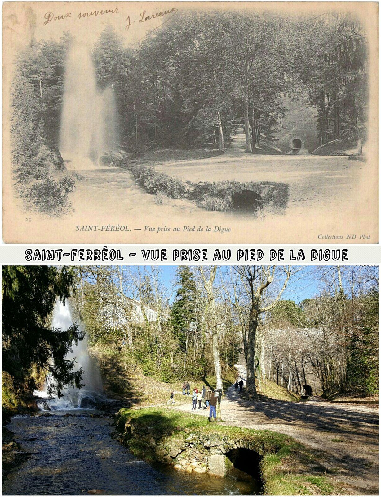 ● St Ferréol d'antan et d'aujourd'hui - La Montagne Noire - Haute-Garonne.