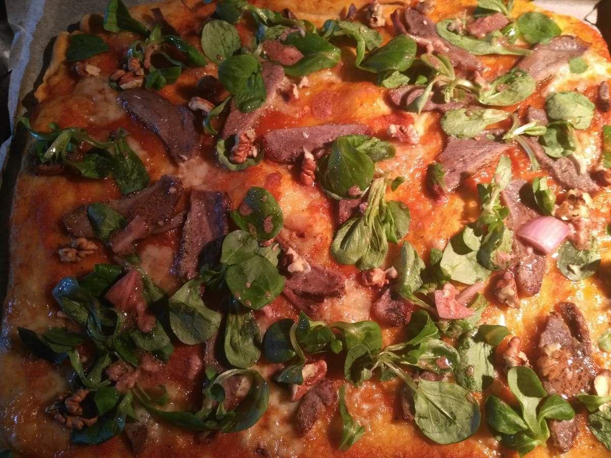 pizza légère pate a pizza maison