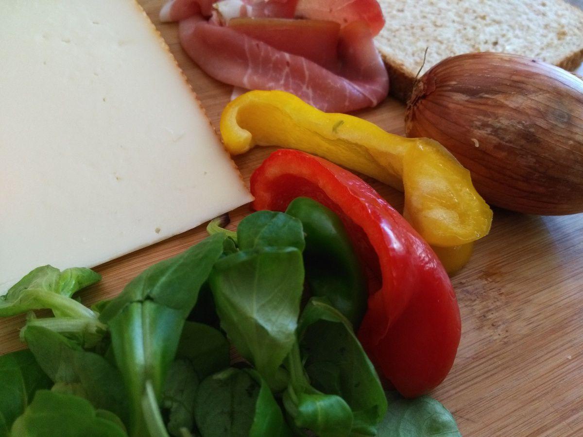 Ingrédient pour recette basque