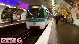 Petit moment de métro