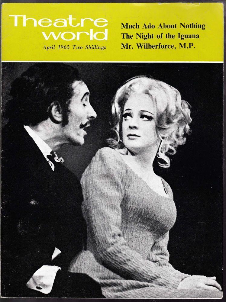 """""""Le couple qui tue"""" en 1970. Maggie Smith et Robert Stephens ont joué ensemble de multiples fois au théâtre (j'ai choisi """"Beaucoup de bruit pour rien"""" parce que j'adore cette pièce et que Robert Stephens a joué plus tard dans le premier film de Kenneth Branagh """"Henry V"""")..."""