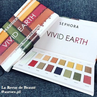 La palette Vivid Earth - Rough Nature de Sephora
