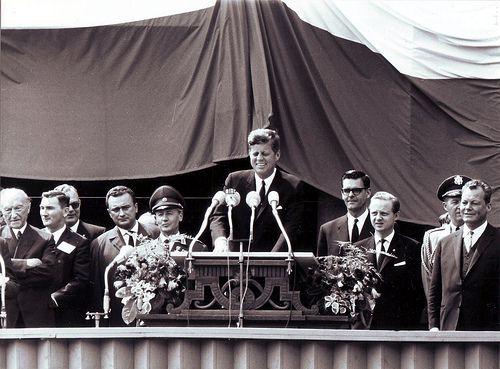 Kennedy en visite officielle à Berlin en 1963