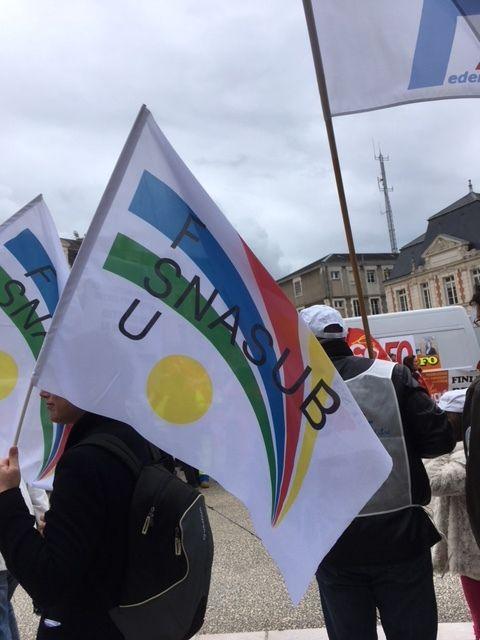 Mobilisation du 9 mai 2019 à Poitiers
