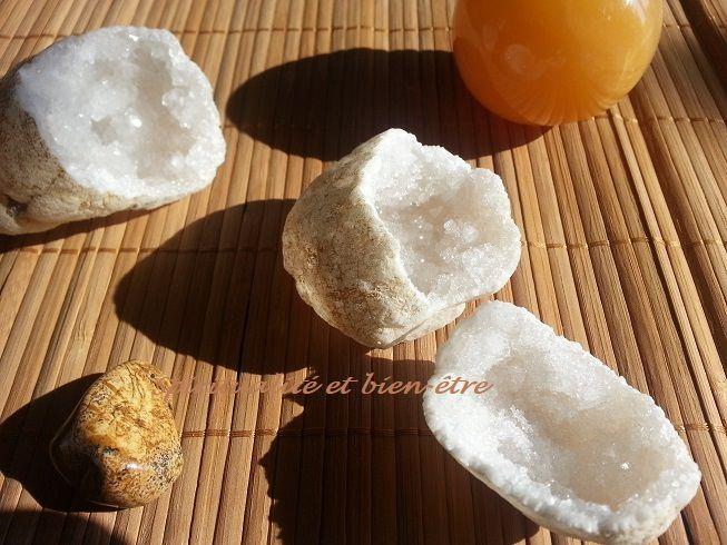 recharger les pierres au soleil