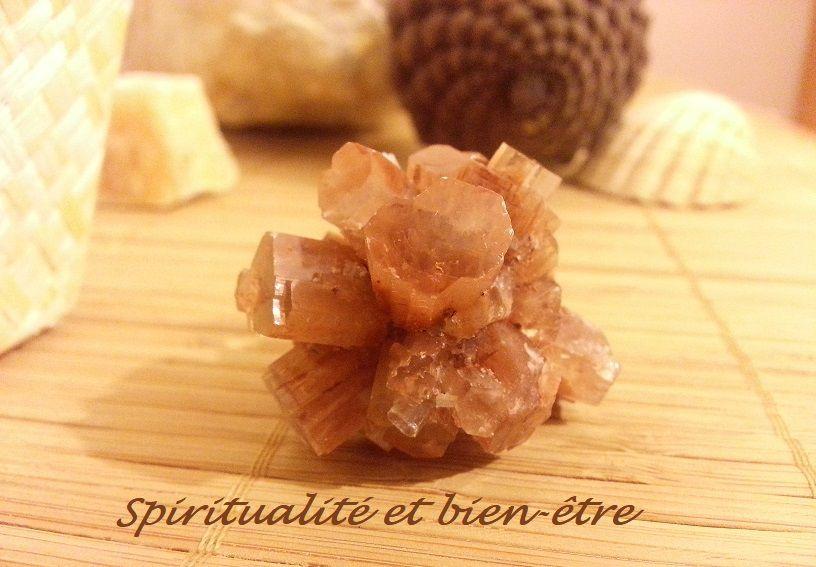 Amas aragonite ou aragonite cristallisée
